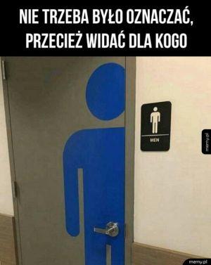Oznaczenie WC