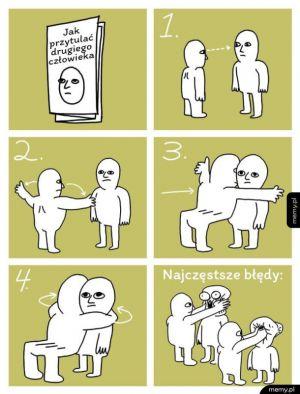 Jak przytulać
