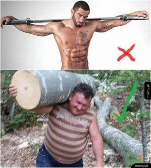 Prawdziwa siłownia