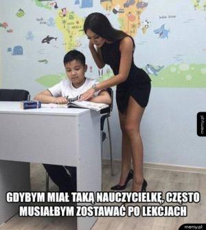 Nowa nauczycielka