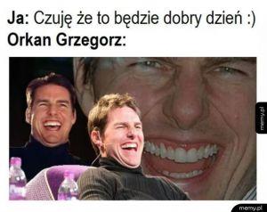 Orkan Grzegorz zamiata