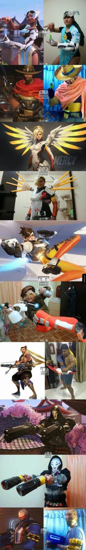 Cosplay z Overwatcha przy zerowym budżecie