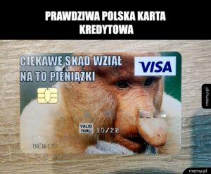 Oryginalna Karta kredytowa