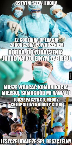 Nawet kasownik jakiś taki polski