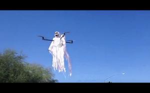 Halloweenowy dron