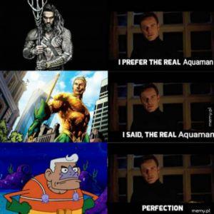Aquaman powinien mieć zielone leginsy!