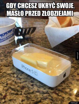 I masło ukryte
