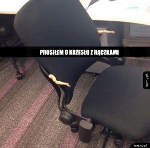 Oryginalne krzesło