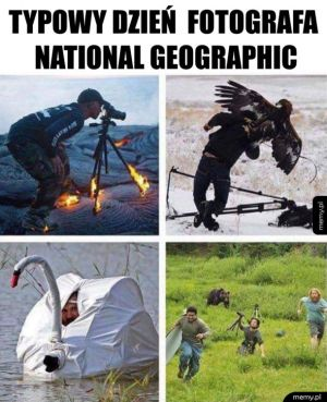 Ciężki żywot fotografa