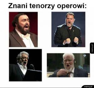 Tenorzy operowi