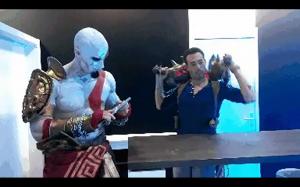 Nathan Drake VS Kratos