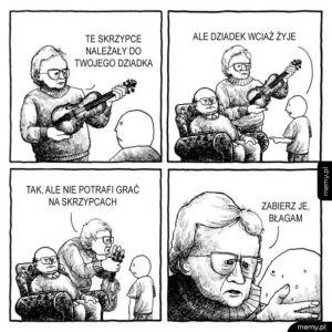 Skrzypce dziadka