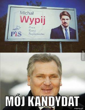 On już wie na kogo będzie głosował