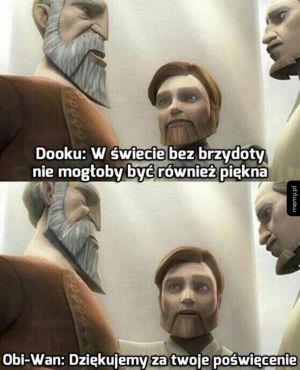 Obi-Wan zawsze potrafił przypiekać sithów