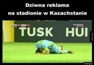 Dziwna reklama w Kazachstanie