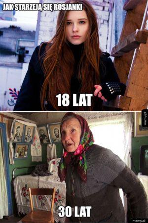 Jak starzeją się Rosjanki