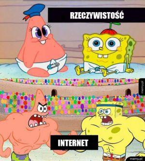 Internet vs rzeczywistość