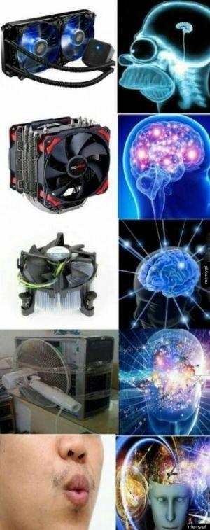 Chłodzenie sprzętu komputerowego