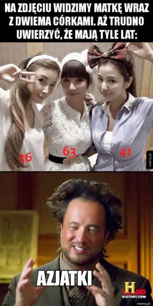 Azjatki inaczej się starzeją