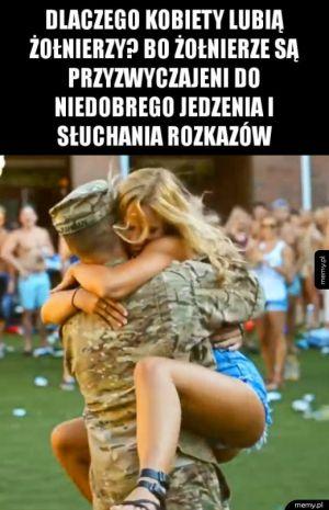 Dlaczego kobiety lubią żołnierzy