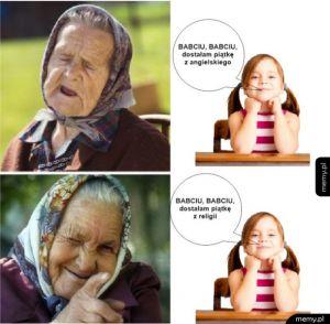 Bo Babcia Wie Co Dobre