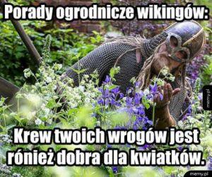 Porady ogrodnicze wikingów