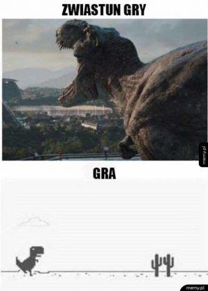 Zwiastun vs gra