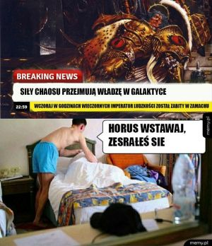 Horus sie zesrał