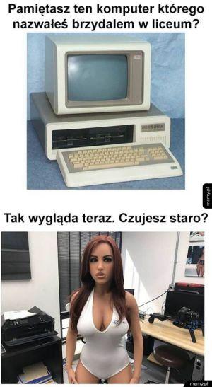 Brzydki komputer
