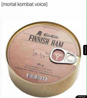 Finnish ham!