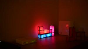 Lampka tetris