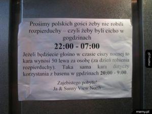 Apel do polskich gości