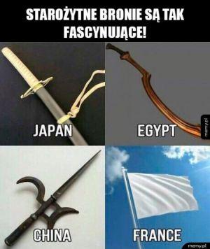 Starożytne bronie