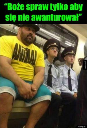 Gdzieś w metrze