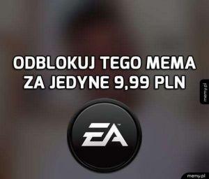 EA zawsze memowalne