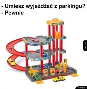 Wjazd na parking