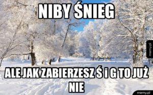 Taki śnieg