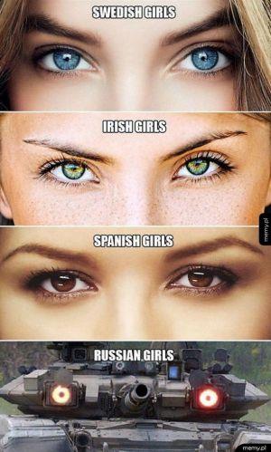 Piękne oczy mogą zabić...
