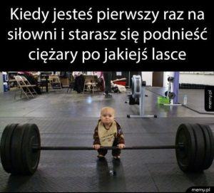 Pierwszy raz na siłowni