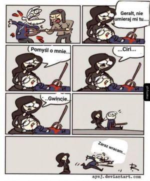 Geralt NIEEE!