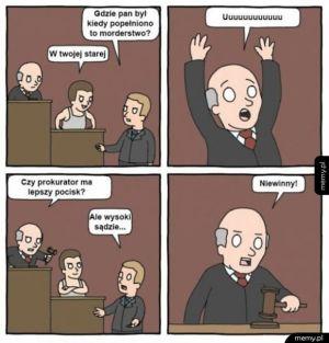 Niewinny!