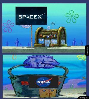 SpaceX vs Nasa