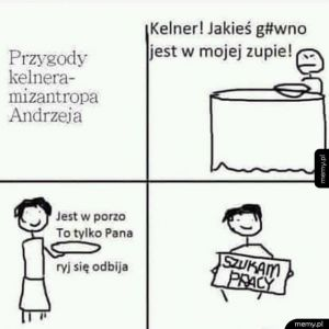Przygody kelnera Andrzeja