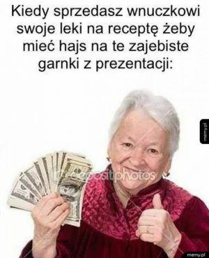 Babcia robi dile