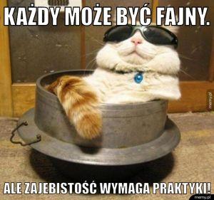 Każdy może być fajny :)