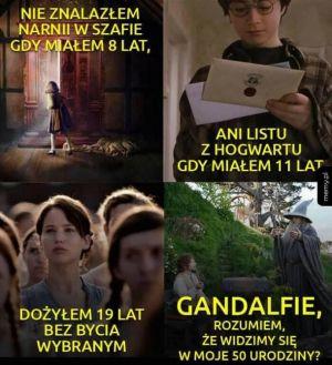 Gandalfie czekam na Ciebie