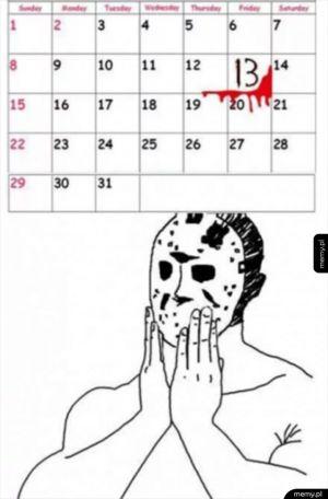 Dzisiaj jest piątek 13