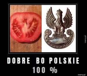W Polsce mamy polskie pomidory...