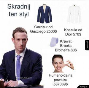 Zuckerberg style