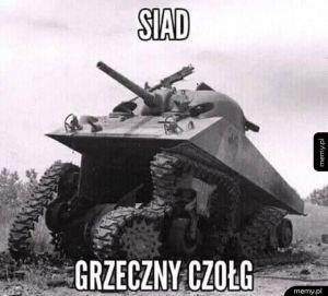 Grzeczny czołg